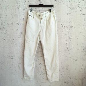 CALVIN KLEIN KHAKI WHITE PANTS 11